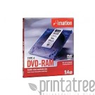 Imation 5 x DVD-RAM - 9.4 GB ( 240 Min. )