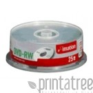 Imation 25 x DVD-RW - 4.7 GB 4x - Spindel