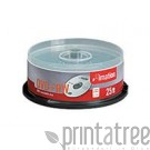 Imation 25 x DVD+RW - 4.7 GB 4x - Spindel