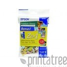 Epson Premium Glossy Photo Paper 100x150mm weiss (C13S041729BG)