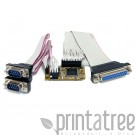 StarTech.com 2s1p Serial Parallel Combo Mini PCI Express Card for Embedded Systems - Adapter Parallel/Seriell - Mini PCI Express
